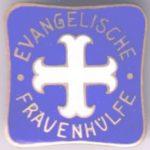 """Emblem """"Evangelische Frauenhülfe"""""""
