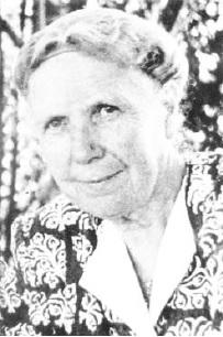 Frau Gleisner, die Gründern der Evangelischen Frauenhilfe