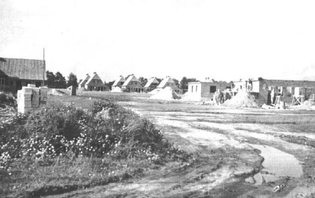 Baubeginn in der Roten Siedlung