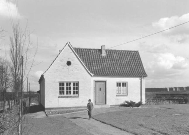 Das neu gebaute Heim von Frau K.