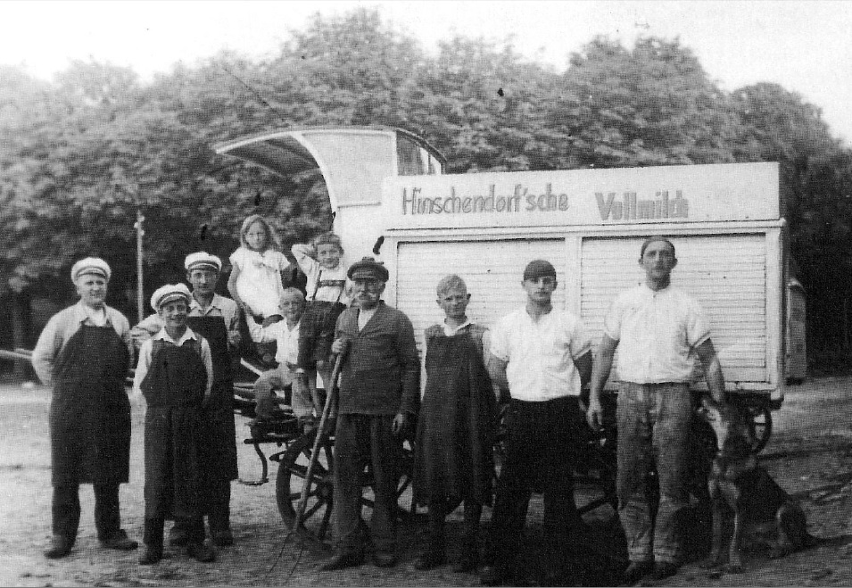 """Durst? """"Hinschendorf'sche Vollmilch""""!"""